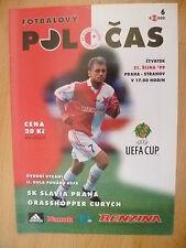 SPORTS Magazine: 1999/2000 UEFA CUP: SK SLAVIA PRAHA v STRAHOV