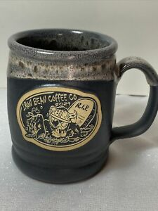 Iron Bean Coffee Company Draugr Dylan Zombie Mug Black Matte Limited To 500 New!