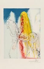 Lady Godiva - Les Chevaux de Dali by Salvador Dali Art Print