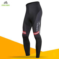 Fall Mens Bike Long Pants Cycling Riding 3D GEL Padded Tights Cycle Wear