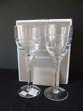 WATERFORD CRYSTAL JASPER CONRAN AURA 11 WINE ONE PAIR BRAND NEW BOXED
