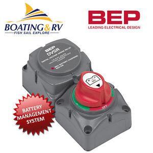 BEP Dual Battery Switch VSR 12V/24V | Marine Battery Isolator Management System