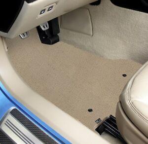 Lloyd Berber 2 Carpet 4pc Floor Mat Set - 3 Rows - Choose from 8 Colors
