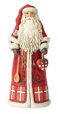 Enesco Jim Shore Heartwood Creek Danish Santa Around the World NIB 6001475