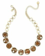 Kate Spade Out of Her Shell Necklace NWT Classic  Shell Links Perfection