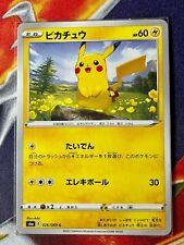 Pokemon Card Pikachu 026/069 S6A Eevee Heroes JPN Ver. F/S