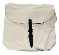 Civil War Confederate Or Union White Lined Canvas Haversack  Bread Bag UK Based