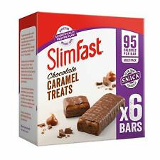SlimFast Chocolate Caramel Snack Bar Multipack- Box of 30, Bars