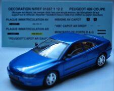PEUGEOT 406 coupé - SOLIDO 1/43 (BEA009)