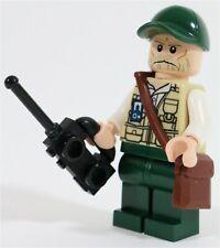 LEGO PARK RANGER VET MINIFIGURE JURASSIC PARK - MADE OF GENUINE LEGO PARTS