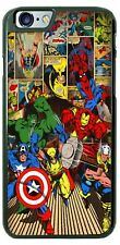MARVEL COMICS HULK THOR PHONE CASE COVER FOR iPHONE SAMSUNG GOOGLE LG etc