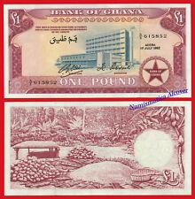 GHANA 1 Pound 1962 Pick 2d aUNC