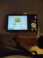 Panasonic Lumix DMC-ZS19 14.1MP Digital Camera - Black W/ Battery Charger SD