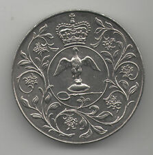 1977 Silver Jubilee Coin Queen Elizabeth II Royal Mail Family Vintage Medal I UK