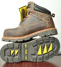 Safety boot with Steel toe, EH, Oil resistant sole size 7