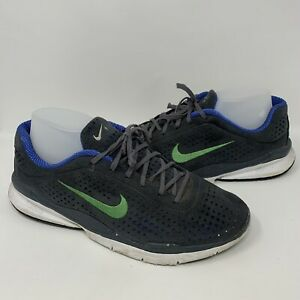 2006 Nike Air Zoom Moire+ Size 11 Gray Blue Green Free 314496-001