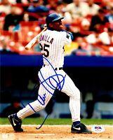 Bobby Bonilla autographed signed 8x10 photo MLB New York Mets PSA COA
