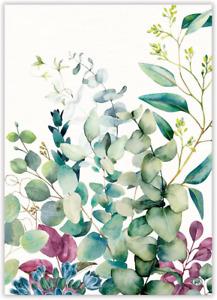 Eucalyptus & Mint Cotton Kitchen Towel by  Michel Design Works