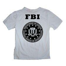 FBI Department of Justice Shirt - Sizes S-XL Various Colours
