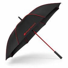 Audi Sport Stockschirm Schwarz Rot Regenschirm Schirm Groß 3122000200