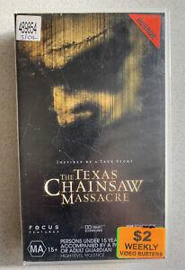 Texas Chainsaw Massacre [VHS] Roadshow Video Horror 2003 Ex-Rental GC!