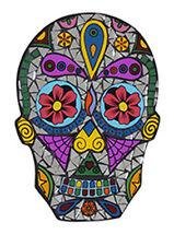 Fair Trade Day of the Dead Skull Mosaic Wall Art MC53