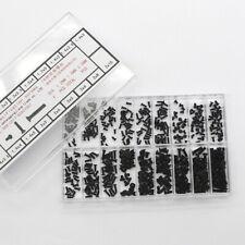 18 Arten Kleine Mini Maschinenschrauben Set für Brillengestell Notebook usw 1084