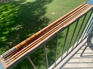 """WRIGHT & McGILL """"GRANGER SPECIAL"""" BAMBOO FLY ROD: 4WT., 3/2 CONF., 5 Oz., XLNT!"""