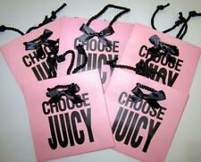 Juicy Couture Five 5 Pink Gift Bags Great for gift giving New