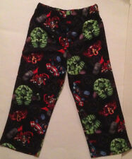 Marvel 's AVENGERS Pajama Sleep Lounge Pants PJs Boys 4/5 IRONMAN THOR HULK CAPT