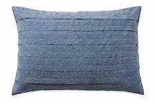"DKNY Loft Stripe Indigo Blue Pillow Sham 20"" x 36"" FREE SHIPPING"