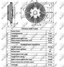 Ventola RADIATORE NFR FRIZIONE - 49527