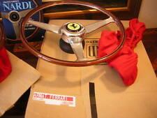 "Ferrari 275 GTB/4 Wood Steering Wheel  NARDI 16.5"" NEW"