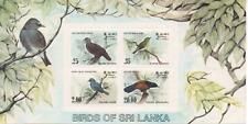 B940 Sri Lanka Blok 22 postfris Vogels