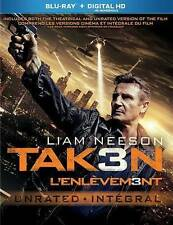 TAKEN 3 (Blu-ray Disc, Includes Digital Copy) NEW WITH SLEEVE
