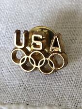 OLYMPIC GAMES USA CAP PIN