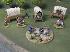 ACW  WAGONS - 28mm - PAINTED TO COLLECTORS STANDARD