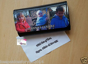 Glasses Case Custom Made With Your Own Photo With FREE Personalised Cloth