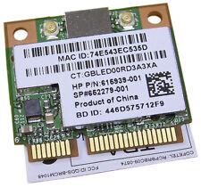 HP BCM943225HMB Half Mini Wifi BT Combo NEW 652279-001 EDR 1b/g/n WiFi Mini Card