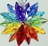 Made with ALL Swarovski Crystal - Chakra Octagon Star Burst Sun Catcher Ornament