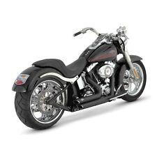 Vance & Hines Short Shot Staggered schwarz, für Harley - Davidson FXST 87 - 11