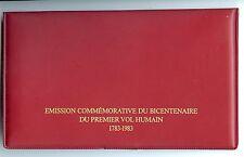 EMISSION COMMEMORATIVE BICENTENAIRE DU PREMIER VOL HUMAIN 1783/1983