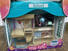 My Life As Mini School 7 Piece Set Closes to Become Carrying Case, NEW