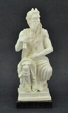 "Italian Alabaster MOSES sculpture signed A. Giannetti 10"" tall. (BI#MK/0217.TMP)"