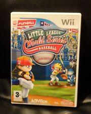 BaseBall Little League World Series SUPERB Fun Packed BaseBall Wii Game