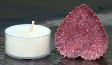 2pk SCENTED VALENTINE GIFT PACK TEA LIGHT & CANDLE MELT 10hour BIRTHDAY WEDDING