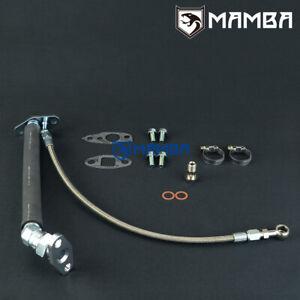 MAMBA Universal Oil Feed & Return Drain Line Kit For TOYOTA CT9 CT12 CT20 CT26