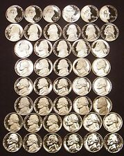 1968-2009-S Jefferson Nickel Gem Proof Set Run 44 Coin Run US Mint Lot .