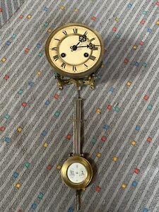 Komplettes altes Uhrwerk für Regulator Wanduhr Pendeluhr
