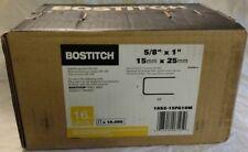"Bostitch 16S2-15FG10M 16-Ga S5 Flash Galvanized Staples 5/8 leg""x1crown""(10,080)"